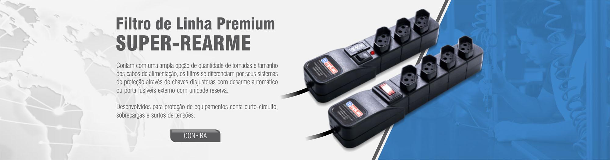 Filtro de Linha Premium