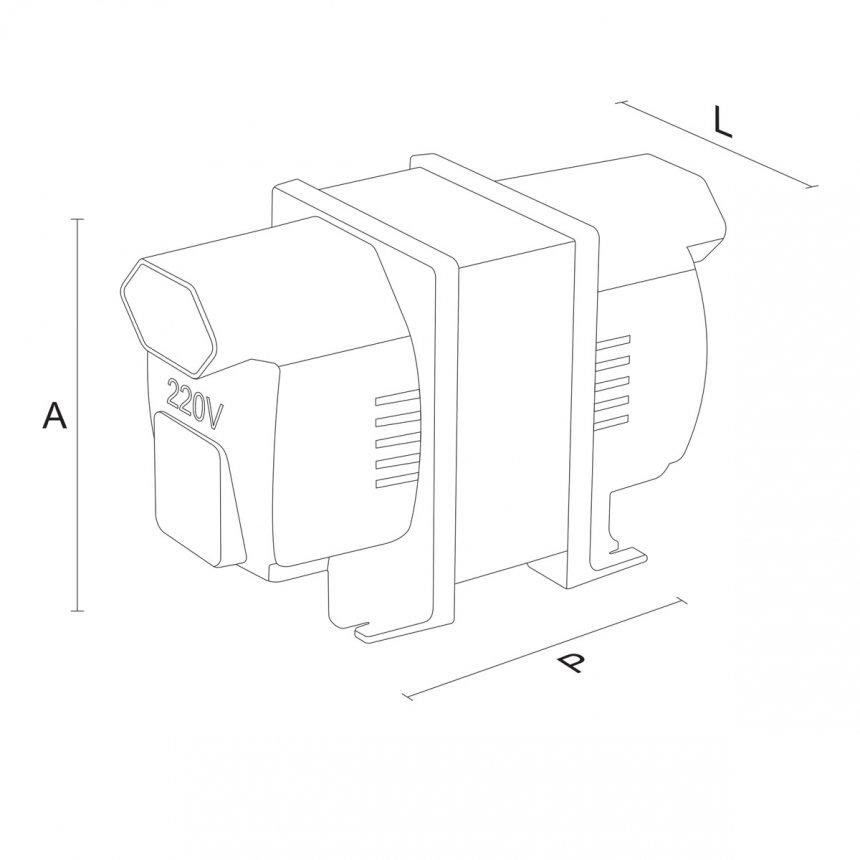 Autotransformador 1010VA